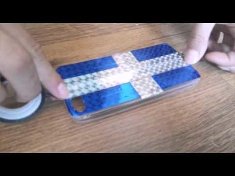 DIY obal na mobil 2
