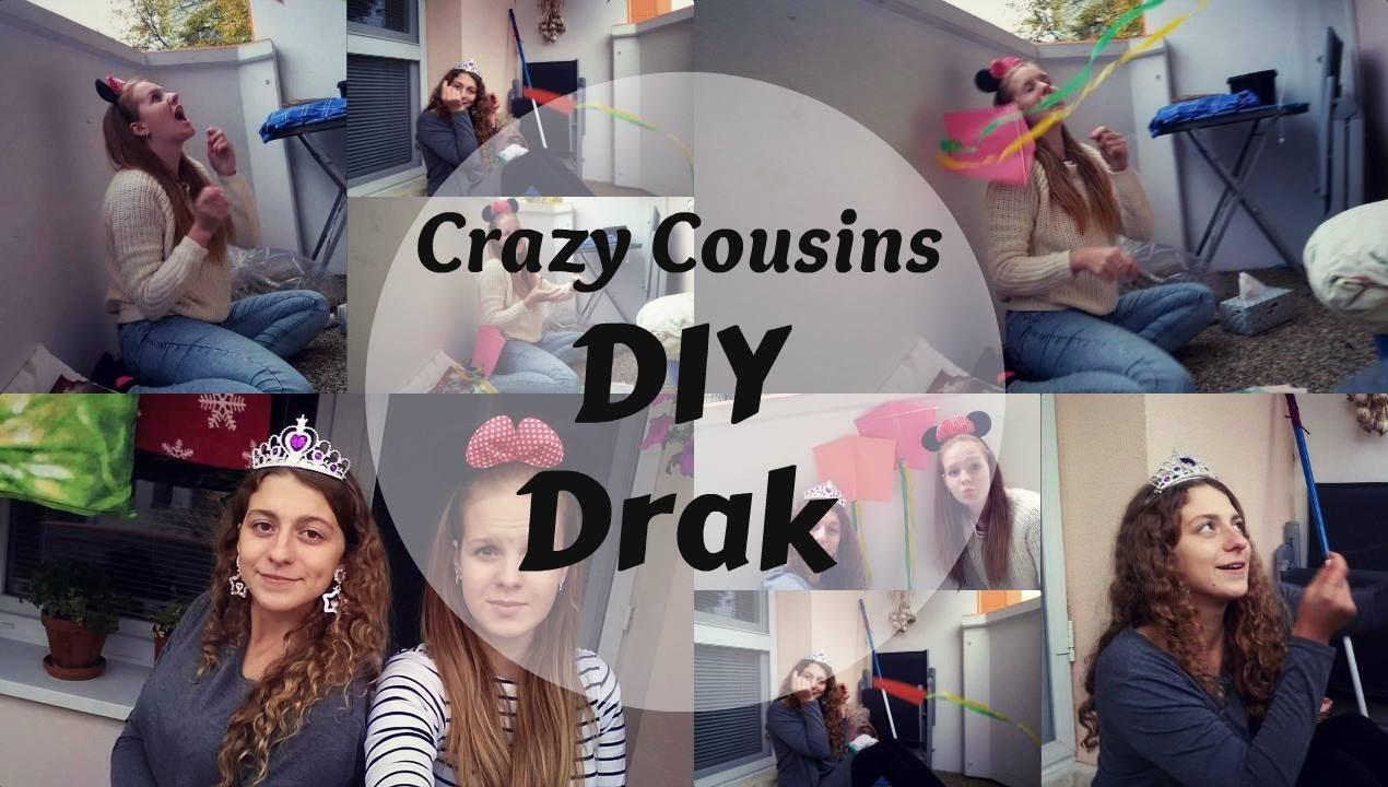 DIY Létající drak | Crazy Cousins