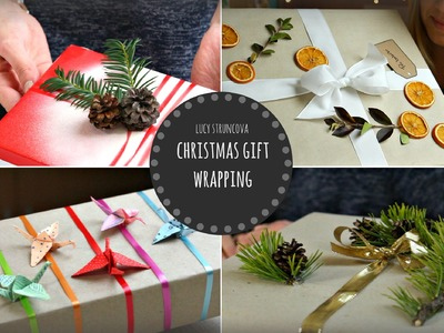 Balení vánočních dárků | Christmas gift wrapping | Lucy&Theodora