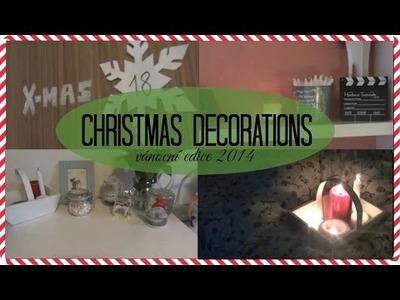 ❅ Vánoční dekorace [DIY & TIPS] | vánoční edice 2014 ❅