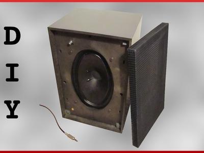DIY portable battery powered speaker