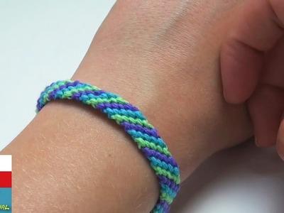 DIY: Náramek. Jak uvázat náramek přátelství z bavlny