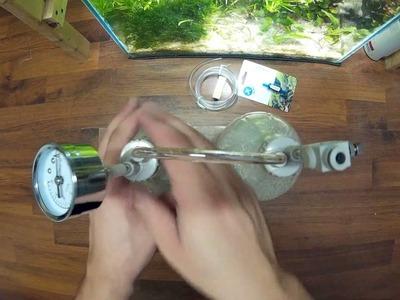 DIY CO2 system for aquarium - citric acid + baking soda