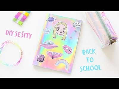 DIY sešity. BACK TO SCHOOL - NotSoFunnyAny