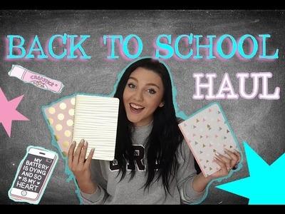 BACK TO SCHOOL vše co musíš mít v tašce l Veronika Spurná