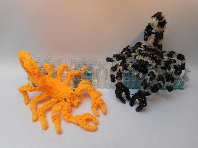 3D Štír z gumiček