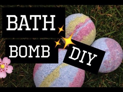 Bomby do koupele DIY |Denny Canton