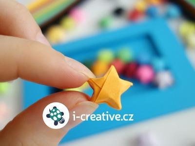 Mini origami hvězdičky - návod