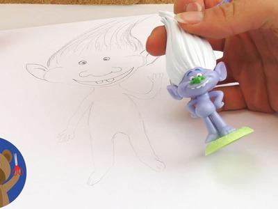 TROLLOVÉ -  návod jak si je jednoduše namalujete