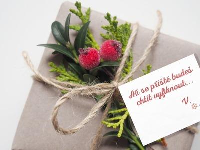BALENÍ DÁRKŮ | jednoduché a rychlé balení dárků nejen na Vánoce | Vivantis