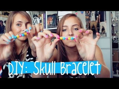 DIY: Skull Bracelet | SparkleShine