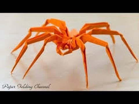 How to make paper Spider - Origami Spider