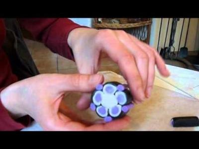 Jak udělat kytičku z fimo hmoty
