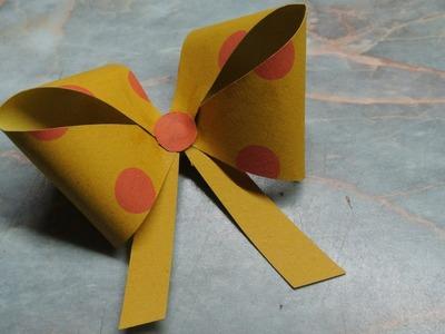 Mašle z papíru - diy (Ribbons of paper)
