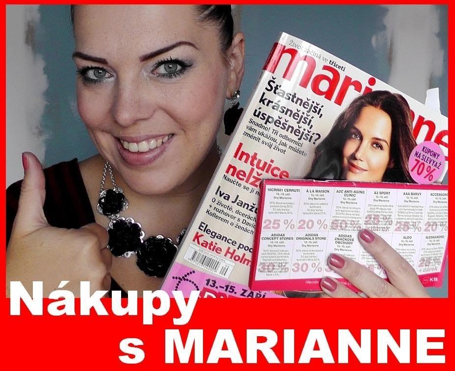 Nákupy dny Marianne