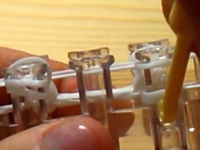 Náramky z gumiček žebříkový náramek NOVÝ způsob  HD