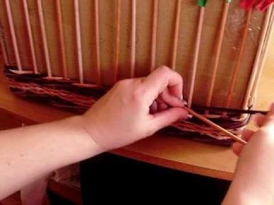Návod na šipky (pletení z papíru)