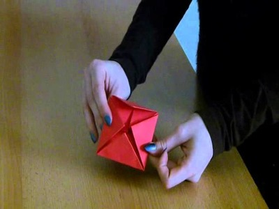 Origami růže