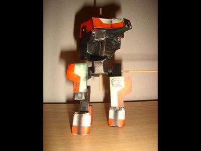 PaperCraft : Bitevní Mech D9 [Stavba]