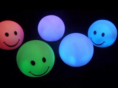 Svítící dekorační koule