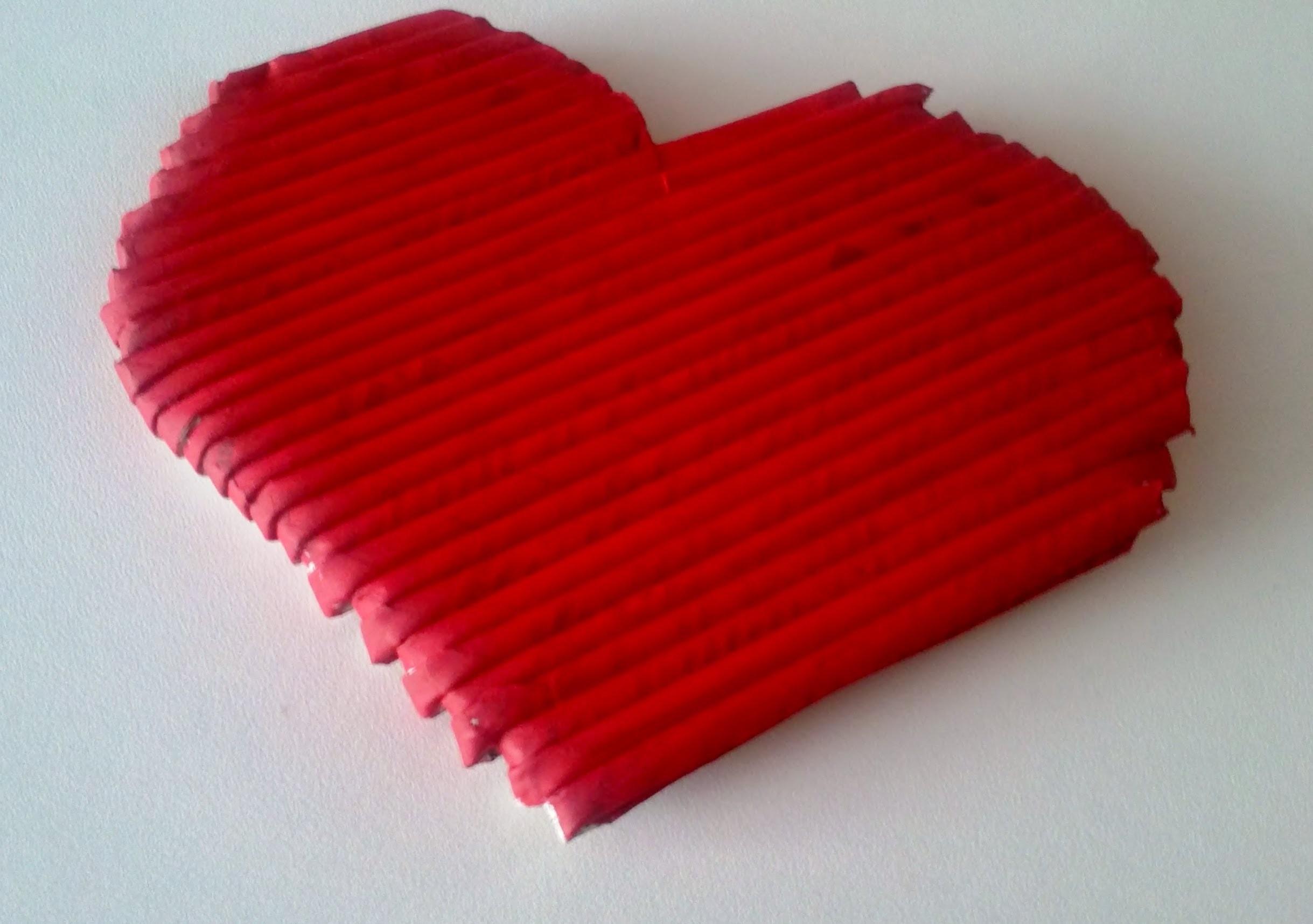 Valentýnské srdíčko - diy - (Valentine heart)