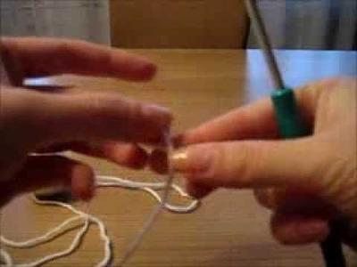 Základy háčkování - krátký sloupek - crochet