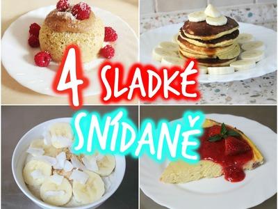4 jednoduché a zdravé snídaně | 4 easy and healthy breakfast