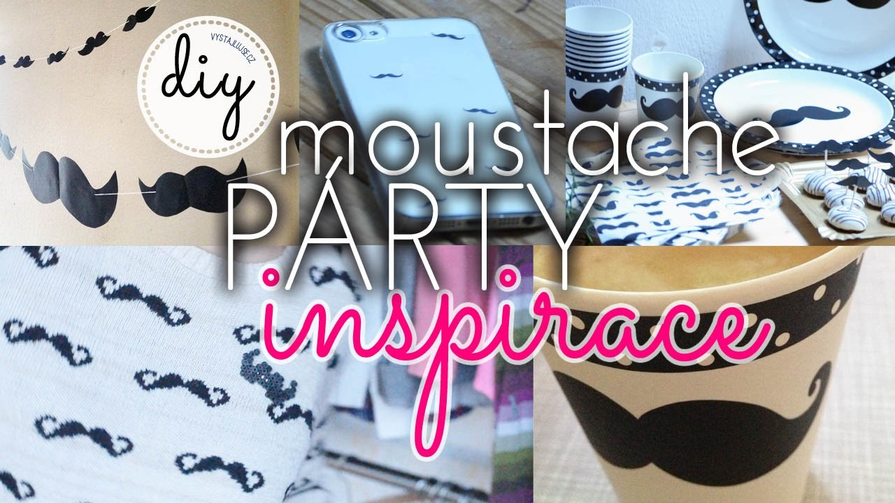 Moustache Party Inspiration DIY | #movember I laTerez Atelier