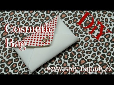 Kosmetická taštička x pouzdro na mobil (Cosmetic bag x mobil case) DiY