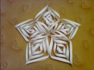 Návod na vánoční hvězdy z papíru