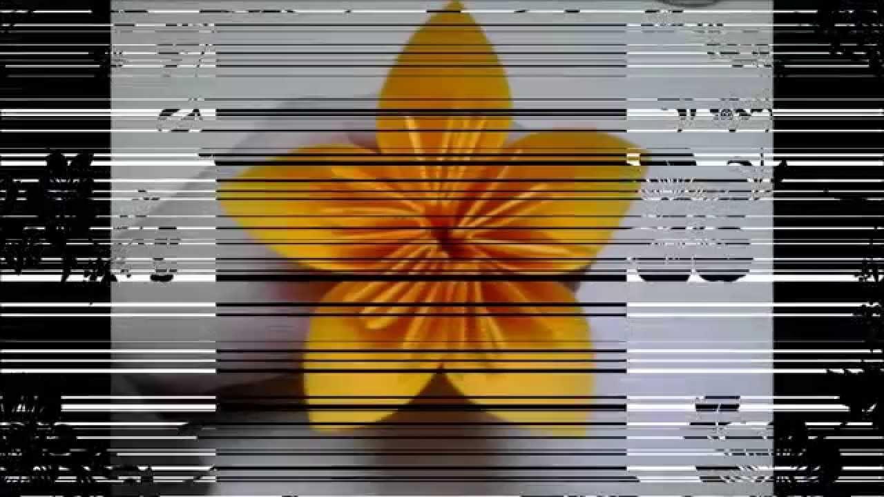 Základní kusudama květina - návod