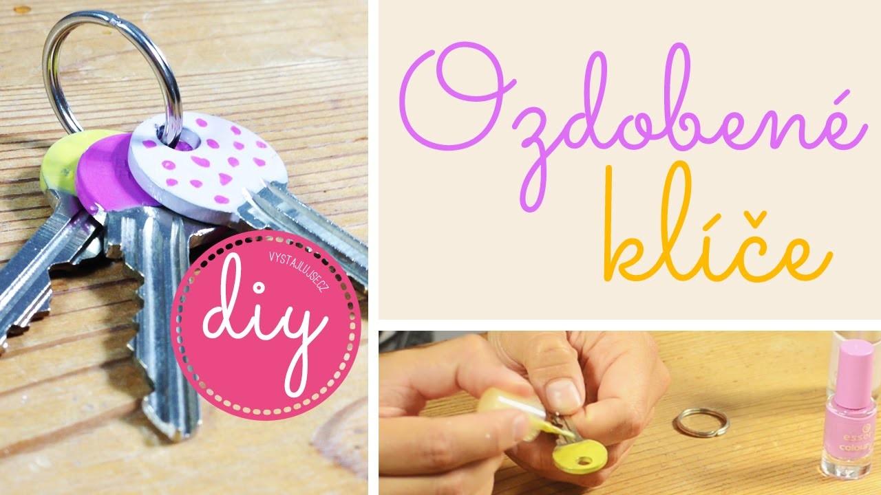 Jak ozdobit a rozlišit klíče I DIY I laTerez Atelier
