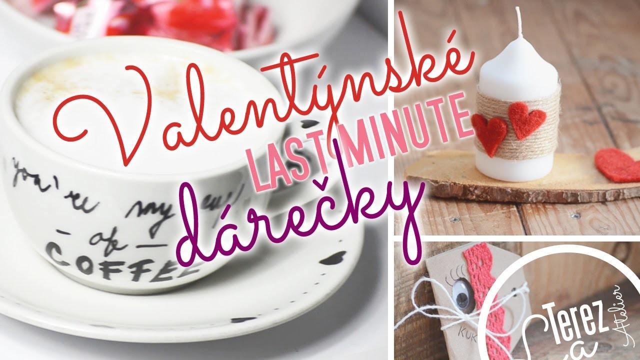Valentýnské last minute dárečky | Tipy na dárky | DIY Valentines Day Gifts | #laterezatelier