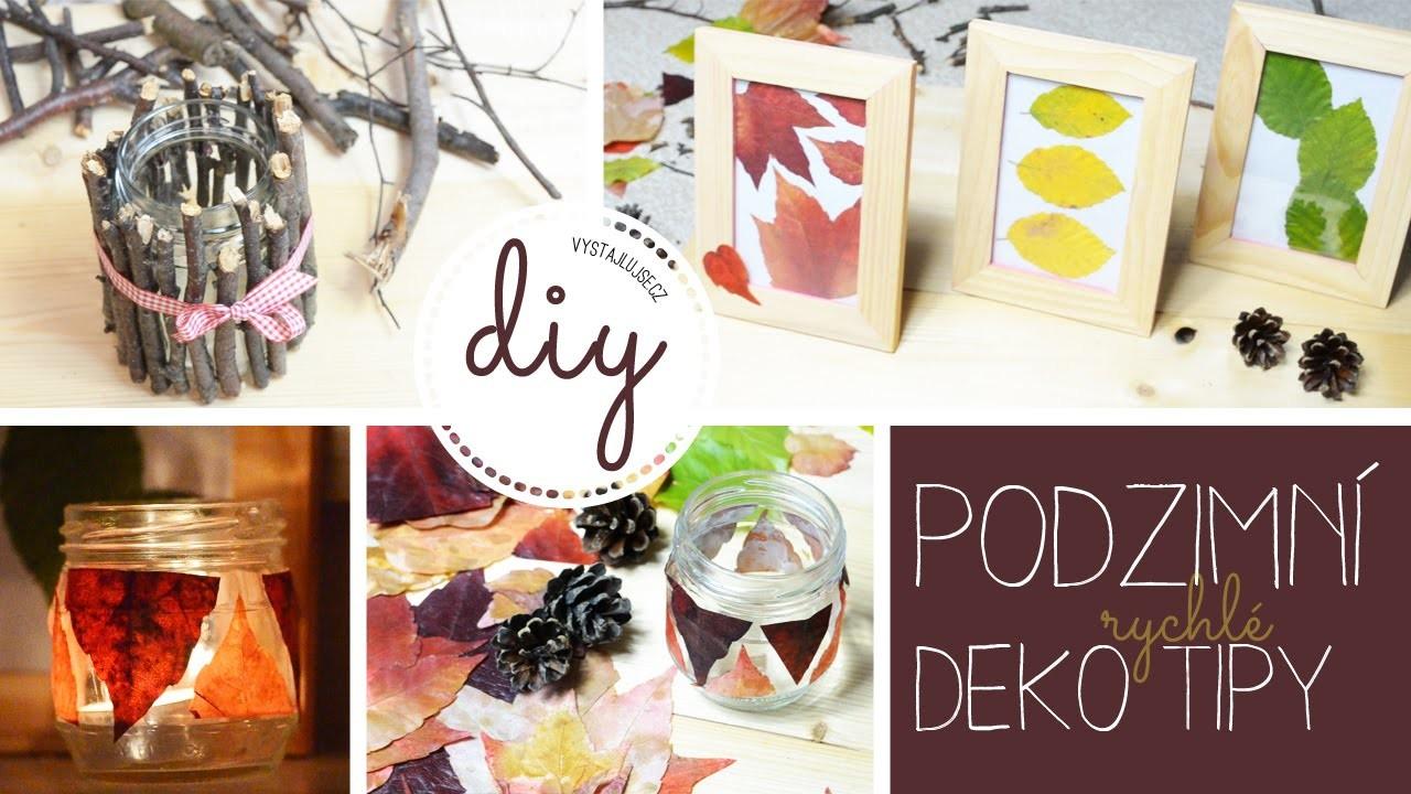 Podzimní dekorace | 3 rychlé tipy na podzimní inspiraci | DIY Fall Room Decor I laTerez Atelier