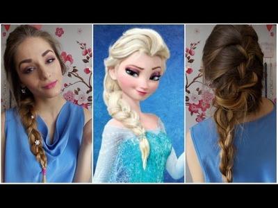 Tutorial: Proměna v Elsu (Ledové království). Transformation to Elsa (Frozen)