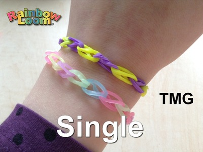 Rainbow Loom - Single náramek - Ája