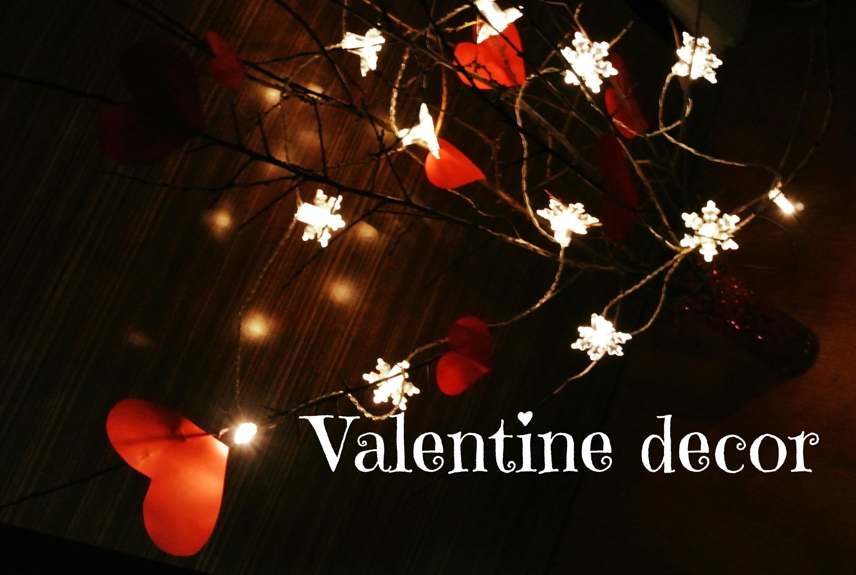 Valentýnská dekorace (valentine decor) DiY