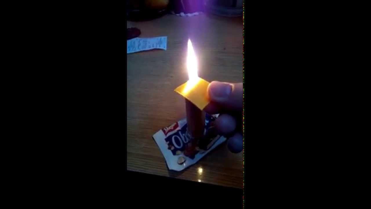 Jak opalić płatek kanzashi