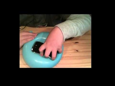 DIY- jak vyrobit kryt na mobil z balonku!