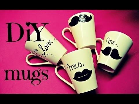 Malované hrnečky (DIY mugs)