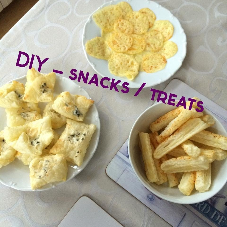DIY - snacks,treats. rychlé pochoutky