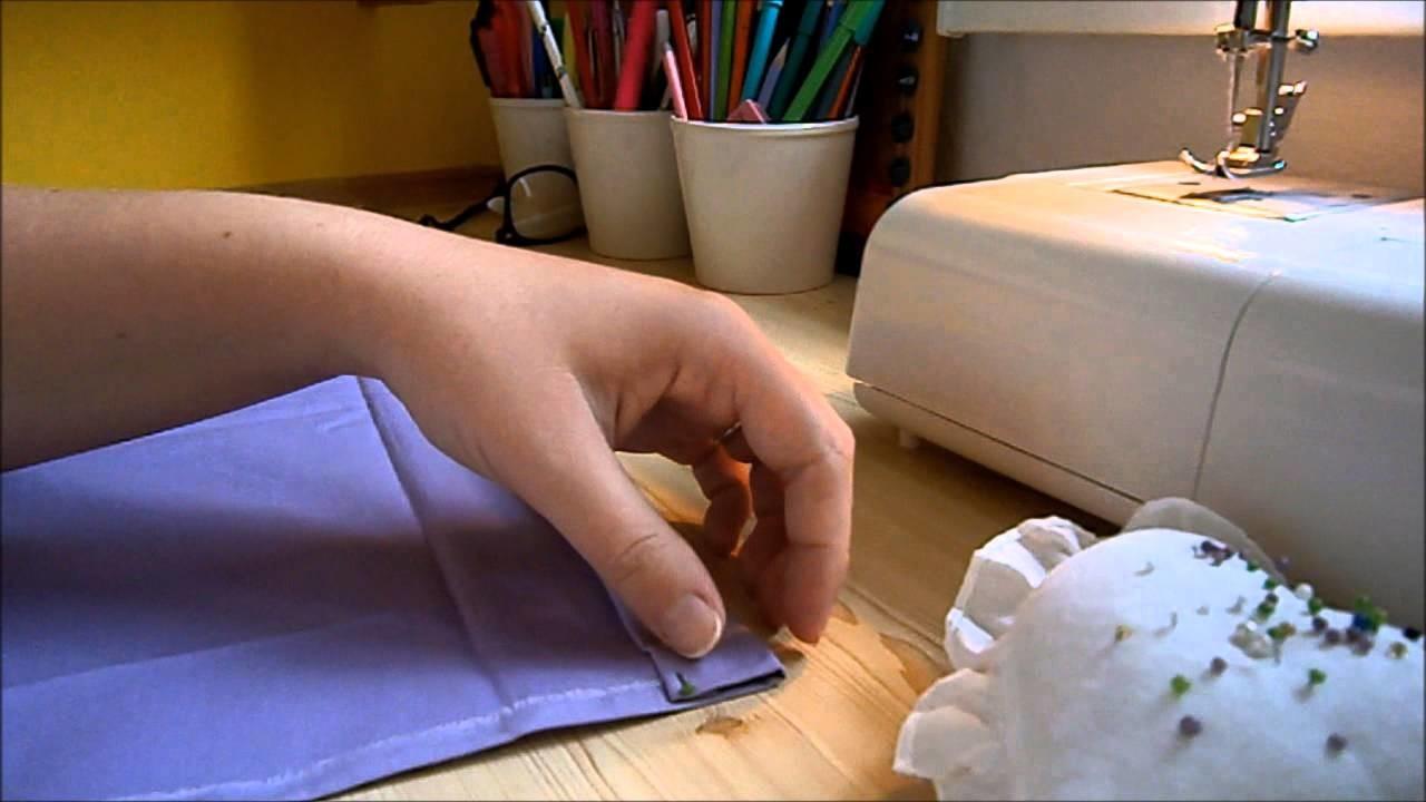 DIY: látkový vak na záda | Kate Rosewood