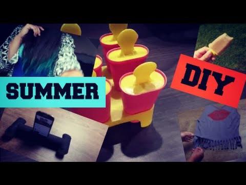 SUMMER DIY! | + vysvětlení, omluva