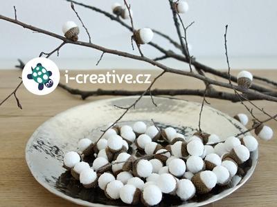 DIY vánoční a zimní dekorace