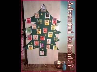 Vánoční kalendář DIY tutoriál