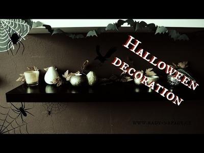 Rychlá halloweenská dekorace (Halloween decoration last minute) DiY