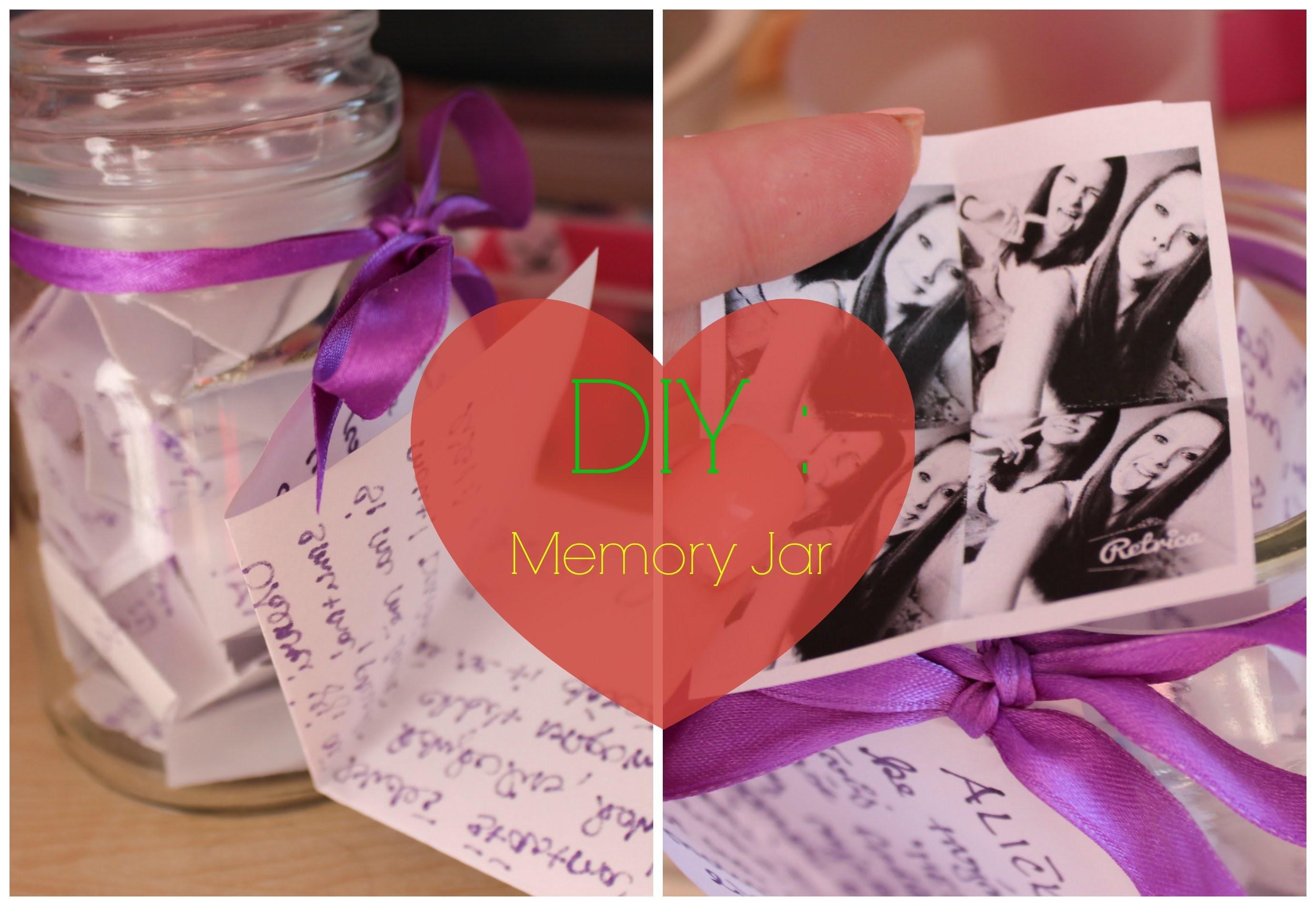 DIY: Memory Jar