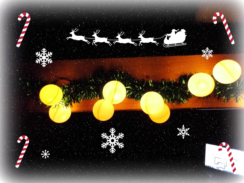 Výroba,návod na vánoční světelný řetěz (DIY christmas light hack)