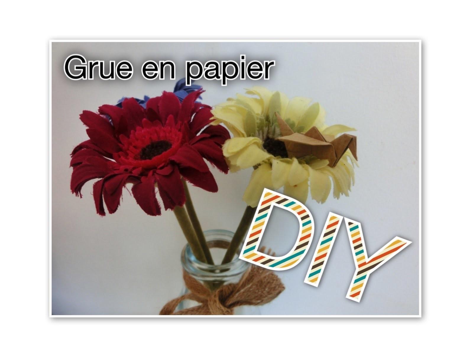 DIY : Grue en papier (Tuto n°6)