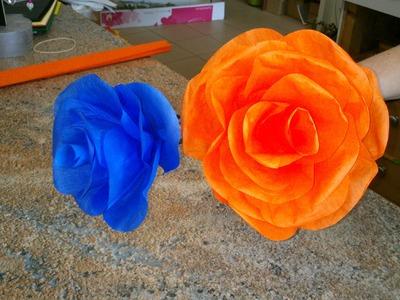 Jak na to: 8# Papírová růže DIY